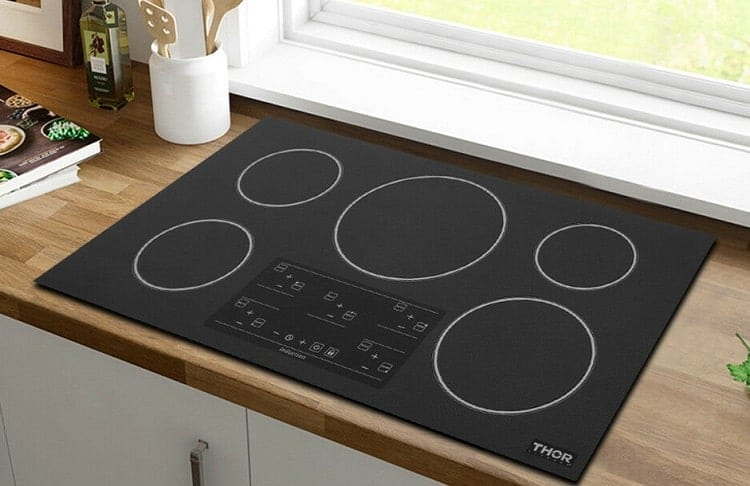 Five Burner Cooktop