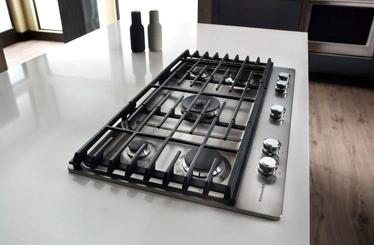 Built In Gas Cooktop