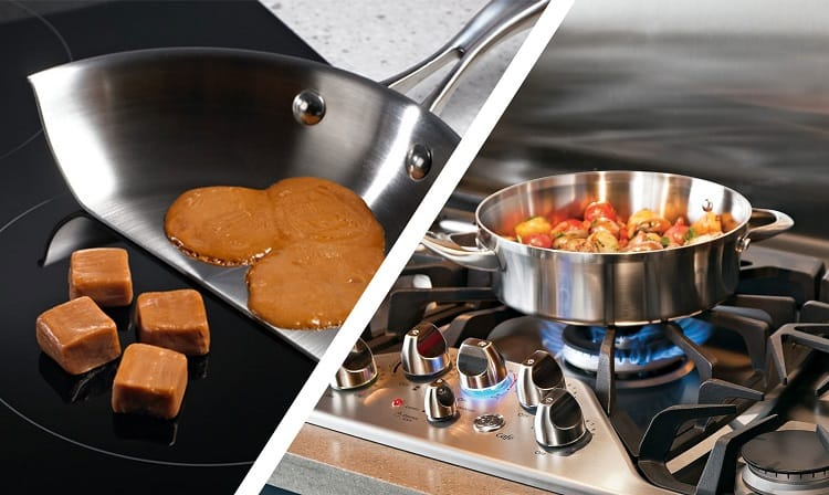 Two Different Cooktops