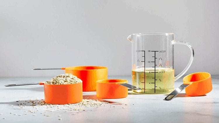 Orange Measuring Cups