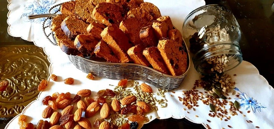 Biscotti With Whole Wheat