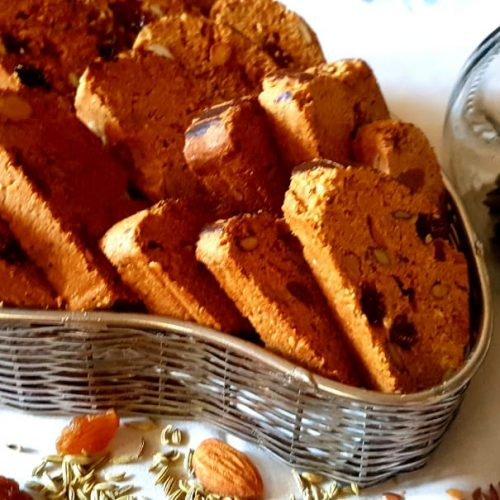 Biscotti With Whole Wheet recipe