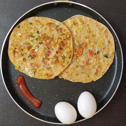 Egg Parotta